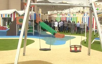 Las terrazas del Materno, más de 850 m2 destinados al ocio de los niños hospitalizados