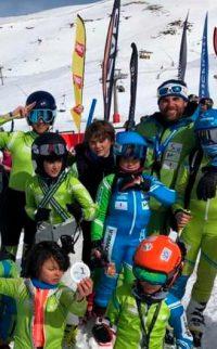 Proyecto Esquí Alpino para Jóvenes Discapacitados del Rotary Club de Granada