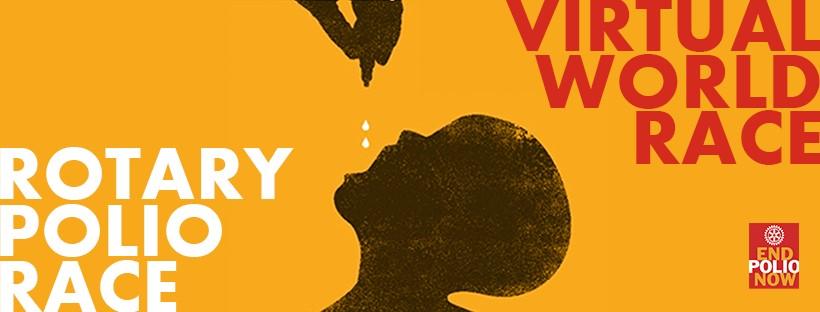 Únete a nuestro reto – #RotaryPolioRace